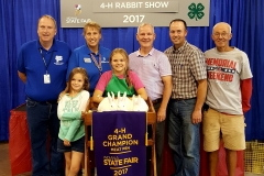 (3/9) Indiana State Fair 4-H Rabbit Show 2017 Grand Champion WIN!