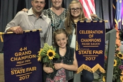 (8/9) Indiana State Fair 4-H Rabbit Show 2017 Grand Champion WIN!