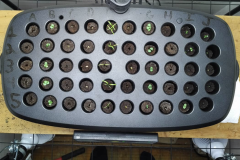 "(1/4) ""So just three days ago I had my first few seeds sprout... lots of progress in that time. You can't see it in this top shot, but F3, F4, and F5 have all sprouted since this morning which is my first attempt at Hungarian Yellow Wax Peppers."""