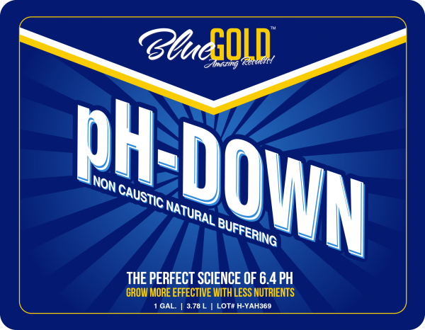 Blue Gold pH Down works with all hydroponic nutrients specifically formulated for hydroponic weed, hydroponic lettuce, indoor hydroponic gardening, indoor hydroponic garden, hydroponics marijuana, hydroponics vegetables, indoor hydroponic herb garden, hydroponics soil, hydroponics for weed, hydroponics orchids, hydroponics organic, general hydroponics kale, hydroponics bloom, hydroponic weed grow, home hydroponic garden, indoor hydroponic wall garden, orchid hydroponics, hydroponics for cannabis, indoor hydroponic plants MORE. Our general hydroponics nutrients and hydroponics pH adjusting solution promote works in ALL hydroponics systems (including indoor hydroponic, ebb and flow hydroponic system, hydroponic reservoir, water chiller hydroponic, hydroponics tank, indoor hydroponic grow system, hydroponics reservoir, hydroponics indoor garden, hydroponics with fish, hydroponics aquarium, hydroponics indoor, hydroponics ebb and flow, hydroponics ebb and flow system, hydroponics vertical, hydroponics with fish tank, hydroponics ventilation, hydroponics ventilations system, hydroponics kitchen, indoor hydroponic grow MORE and with hydroponics fertilizer, organic hydroponic nutrients, hydroponics nutrients for cannabis, hydroponic lettuce nutrients, hydroponic nutrients for cannabis, hydroponics nutrients kit, hydroponics organic fertilizer, hydroponics vegetables nutrients, hydroponics organic nutrients, hydroponic weed nutrients, hydroponic nutrients for vegetables, organic hydroponic nutrients for vegetables, hydroponic nutrients for lettuce, hydroponic lettuce fertilizer, hydroponic nutrients for marijuana, hydroponic nutrients for tomatoes, hydroponic nutrients organic, hydroponic nutrients for strawberries MORE). pH Down hydroponics nutrient solution is a great addition to your hydroponics supplies, hydroponic garden supplies, hydroponic gardening supplies. All guarantee claims must be discussed over the phone with us prior to return. hydroponics, indoor hydroponic system, hydroponic fish tank, indoor hydroponic, hydroponic reservoir ebb and flow hydroponic, grow system, water chiller hydroponic, hydroponics tank, hydroponics indoor indoor hydroponic grow system, hydroponics indoor garden, hydroponics with fish, hydroponics kitchen hydroponics aquarium, hydroponics ebb and flow, hydroponics vertical, hydroponics with fish tank hydroponics ventilation, hydroponics ventilations system, indoor hydroponic grow gardener, indoor grower, hydro farm, plant nursery women, men, hydroponics, aeroponics, aquaponics urban farmer, urban gardener, vertical growing indoor gardening, indoor growing, tower garden ebb and flow, indoor growing supplies, drip system chemical free, natural, organic, non-toxic, non-caustic, ph adjusting solution, made in USA, NOP, safe for all plants, safe for all produce, safe for all people, safe for all animals, guaranteed results, liquid concentrate, ph down, ph up hydroponic supplies, general hydroponic nutrients hydroponic fertilizer, general hydroponics pH down hydroponic garden supplies, ph adjusting solution hydroponics nutrient solution, hydroponic weed best hydroponic nutrients, ph down, ph up, organic greenhouse, hydroponics, plant nursery, nursery plants, indoor hydroponic system, hydroponics fish tank, indoor hydroponic, ebb and flow hydroponic, grow system, ebb and flow hydroponic system, hydroponic reservoir, water chiller hydroponic, hydroponics tank, indoor hydroponic grow system, hydroponics reservoir, hydroponics indoor garden, hydroponics with fish, hydroponics aquarium, hydroponics indoor, hydroponics ebb and flow, hydroponics ebb and flow system, hydroponics vertical, hydroponics with fish tank, hydroponics ventilation, hydroponics ventilations system, hydroponics kitchen, indoor hydroponic grow hydroponics supplies, hydroponic nutrients, general hydroponics nutrients, hydroponics fertilizer, hydroponics nutrient solution, best hydroponic nutrients, organic hydroponic nutrients, general hydroponics pH down, hydroponic garden supplies, hydroponic gardening supplies, hydroponics nutrients for cannabis, hydroponic lettuce nutrients, hydroponics pH, hydroponic nutrients for cannabis, hydroponics nutrients kit, hydroponics organic fertilizer, hydroponics vegetables nutrients, hydroponics organic nutrients, hydroponic weed nutrients, hydroponic nutrients for vegetables, organic hydroponic nutrients for vegetables, hydroponic nutrients for lettuce, hydroponic lettuce fertilizer, hydroponic nutrients for marijuana, hydroponic nutrients for tomatoes, hydroponic nutrients organic, hydroponic nutrients for strawberries hydroponic weed, hydroponic lettuce, indoor hydroponic gardening, indoor hydroponic garden, hydroponics marijuana, hydroponics vegetables, indoor hydroponic herb garden, hydroponics soil, hydroponics for weed, hydroponics orchids, hydroponics organic, general hydroponics kale, hydroponics bloom, hydroponic weed grow, home hydroponic garden, indoor hydroponic wall garden, orchid hydroponics, hydroponics for cannabis, indoor hydroponic plants organic hydroponic nutrients, hydroponic gardening supplies, hydroponics nutrients for cannabis hydroponic lettuce nutrient, hydroponic pH, hydroponic nutrient cannabis, hydroponic nutrient kit hydroponics organic fertilizer, hydroponics vegetables nutrients, hydroponics organic nutrients hydroponic weed nutrient, hydroponic nutrient vegetable, organic hydroponic nutrient for vegetable hydroponic nutrients for lettuce, hydroponic lettuce fertilizer, hydroponic nutrients for marijuana
